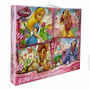 Kreker Disney Princesas 4 Puzzles Progresivos 12-36 Pzas