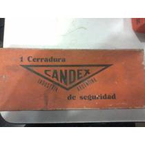 Antiguo Vintage Cerradura Marca Gh 1 Cilindro Tipo Yale