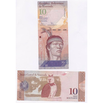Venezuela, Billete Vertical 10 Bolivares 2009 - Pick#90b -sc