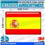 Calcomanias, Stickers, Con Relieve Bandera España
