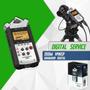 Mini Grabador Digital Estereo Zoom H4nsp