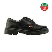 Zapato De Cuero Kickers Para El Colegio Acordonado