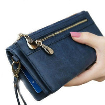 Billetera Mujer Cartera De Mano Porta Celular