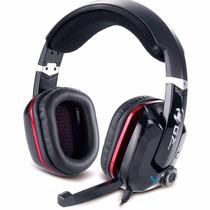 Auricular Genius Cavimanus 7.1 Micrófono Vibracion Usb Gamer