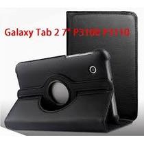 Funda Eco Cuero Giratoria Tablet Samsung Galaxy Tab 2 P3100