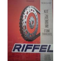 Kit De Transmision Riffel Honda Cbx 250 Twister Rpm-1240