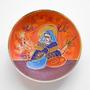 Plato De Porcelana Oriental, Pintado A Mano, Hecho En Japón