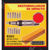 Herramientas manuales destornillador con los mejores - Destornillador de impacto ...