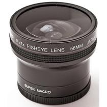 Ojo De Pez + Macro Agfa 52mm-58mm P/ Canon - Nikon - Pentax