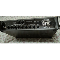 Liquido! Cabezal Amplificador De Bajo Swr Workingpro 400