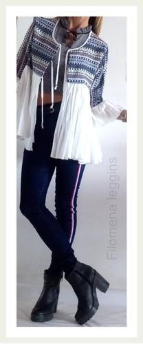 venta reino unido cliente primero nuevo estilo de 2019 Chaqueta Mujer C/aplique Bordado.excelente! Filomena Leggins ...