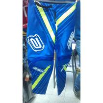 Conjunto Motocross Asw Factory Limited Azul L/m
