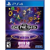 Sega Genesis Classics Ps4 Digital 2°50 Juegos En 1