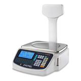 Balanza Comercial Digital Systel Cuora 30 Kg Con Mástil 110v/220v Blanco