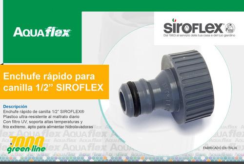 Enchufe Rapido Para Canilla 1/2 Siroflex 7400 Aquaflex
