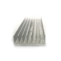 Disipador Aluminio Grande Base Plana 5.5x18cm Led Cob