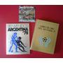Mundial 78. Libros De Plata Y Oro + Programa + Disco.