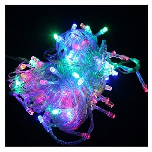 Guirnalda led luces navidad 8 efectos multicolor tira 115 - Tiras led navidad ...