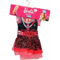 Disfraz Barbie Rock Star ! Talle 1 - Minijuegosnet
