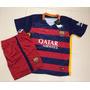 Conjunto Barcelona Psg Chelsea Niños Importado Camisetashort