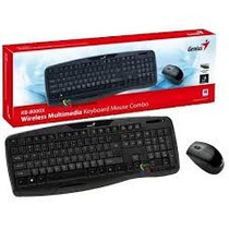 Teclado + Mouse Inalambrico Genius Kb-8000x Smart Tv Compat.