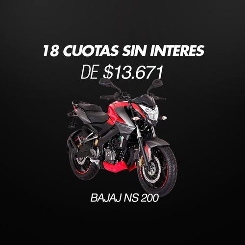 Sin Interes  Bajaj Ns 200 Okm  18 X  $ 12305