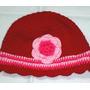 Artesanal Gorros Tejido Al Crochet Lana Bebe Original !!