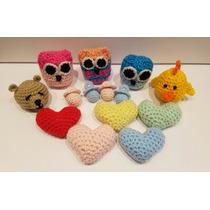 Souvenir Tejidos Crochet Nacimiento Babyshower Cumpleaños