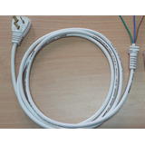 Cable 3 X 0.75 Ficha Inyectada 3 Patas C/flexible Pasacable