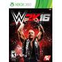 Wwe 2k16 Xbox 360 Nuevos Sellados Originales Formato Fisico