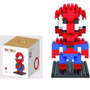 Spiderman 9154 Iblock Fun Loz Diamond Block 130pcs