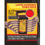Llaves Acodadas Doble Boca Black Jack B624 #