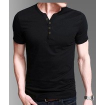 Pack X 3 !! Remeras Entalladas Slim Fit Hombre Tipo Chomba !