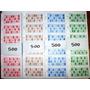 Cartones Para Lotto Bingo Loteria X 500 Danielhds