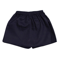 Pollera Pantalon Colegial De Gabardina Azul Niñas