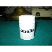 Antiguo Frasco De Farmacia En Porcelana