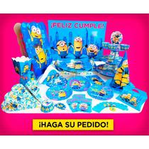 Cotillón 10 Antifaces Cumpleaños Infantil Minions