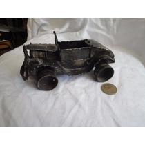 Escultura Metal Reciclado Auto Colección
