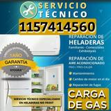 Service Heladeras Carga De Gas Aire Reparacion Comerciales