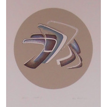 Ana Kozel. Serigrafia 40 X 37 Cm. (1985)