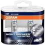 3 Kits Lamparas Night Breaker Unlimited Hb4 H1 H7 Osram