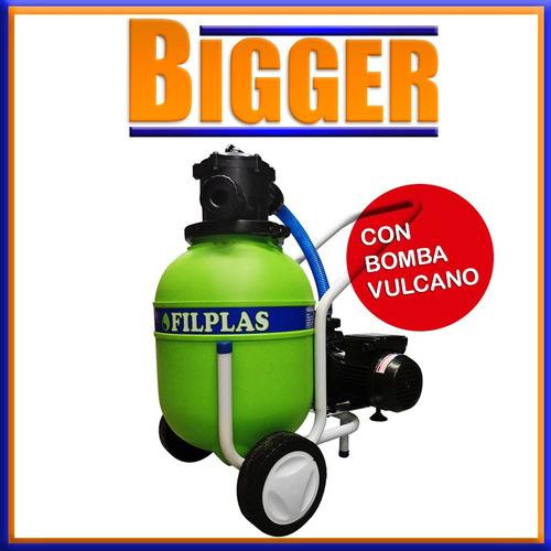 Filtro pileta piscinas portatil bomba vulcano for Filtros piscinas precios