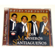 Los Manseros Santiagueños Mejor Que Nunca Cd Nuevo Sellado