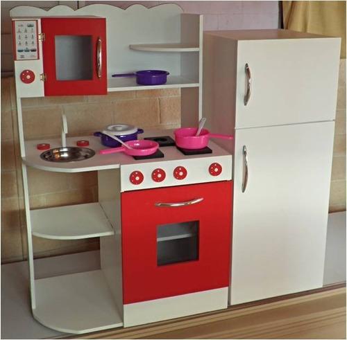 Muebles Infantiles,rincon Casita Infantil,cocina De Juguete (Cocinas ...