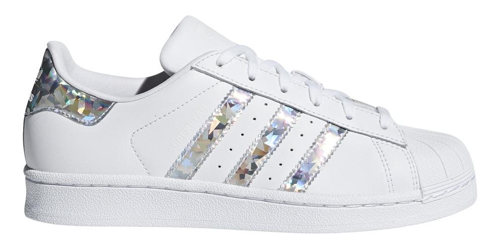 Zapatillas adidas Originals Moda Superstar J Bl/pl