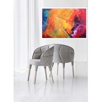 Cuadros Abstractos Color Color - Y Aguamarina / Aqua