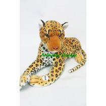 Leopardo De Peluche 60cm Con Sonido