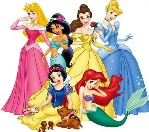 Kit Imprimible Princesas Disney Fiesta 3x1
