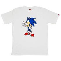 Remeras De Sonic! Regalo Navidad! Talles De Niños Y Adultos!