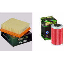 Kit Service Ktm Duke 200/390 Filtro Aire/aceite Hiflo Ryd
